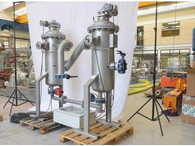Автоматический самоочищающийся фильтр обратной промывки