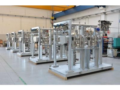 Блок фильтрации перед механическим уплотнением компрессора природного газа