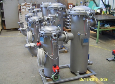 Fluid treatment skid