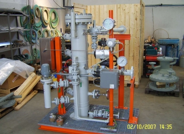 Natural Gas Skid