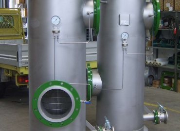 Filtri autopulenti in controlavaggio