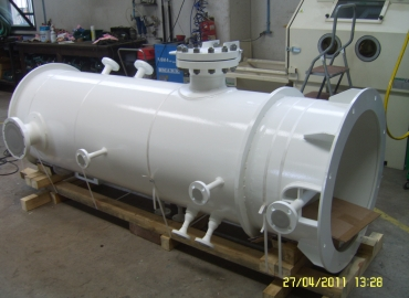 Двухступенчатые сепараторы для газов