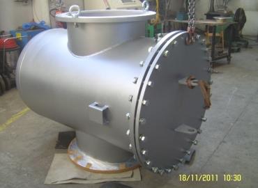 Корзиные фильтры для газов